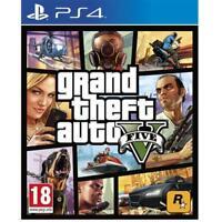Grand Theft Auto V PS4 - GTA 5 per Sony Playstation 4 NUOVO E SIGILLATO