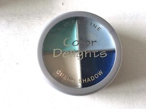 Maybelline Color Delights Quad Eyeshadow Totally Turquoise Cream Shadow