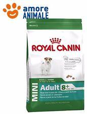 Royal Canin Mini Adult 8+  Confezione 8 kg - Crocchette per cane cani