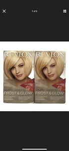 (2) Revlon Color Effects Frost & Glow ALL-IN-ONE Easy Hair Highlighting Kit