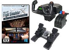 Saitek Pro Flight Yoke, Rudder Pedals, and Throttle Quadrant & FSX Steam Edition