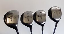 Ladies Set 4 x Lynx Crystal Cat 1 3 5 7 Woods Ladies Flex Graphite Shafts