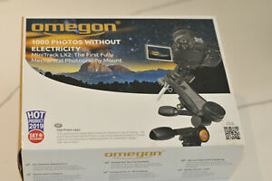 Omegon Mount Mini Track LX2 and adapter complete with finder scope