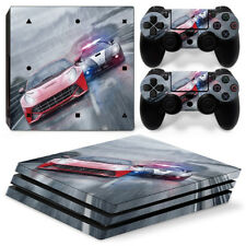 Faceplates, Decals & Stickers Dedicated Skin For Ps4 Pro Chrome Skull On Black Playstation 4 Console