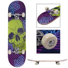 "31"" x 8"" Wood Professional Skateboard Complete Pvc Wheel Trucks Maple Deck"