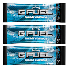 G Fuel Energy Formula Blue Ice 1 (one) Single Serving Packet Gfuel by Gamma Labs