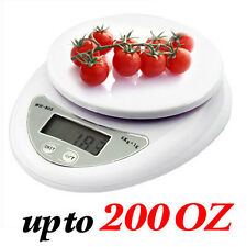 5Kg x 1g Digital Kitchen Scale Diet Food Compact 10lb x 0.04oz Best Tool Cooking