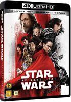 Star Wars The Last Jedi 4K UHD + Blu Ray