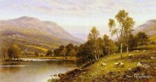 Alfred Glendening Early Evening, Cumbria Painting repro