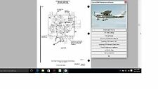 Cessna 206 T 206 206H Service Maintenance Manual + Engine 1998 - 2016 + A/Ds