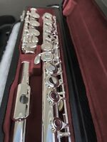 NEW Gemeinhardt 3OB Silver plated Flute, Open-Hole, B-foot, offset G, 30B