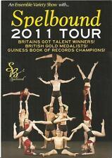 Spellbound -  2011 Tour FLYER (Britains got Talent)