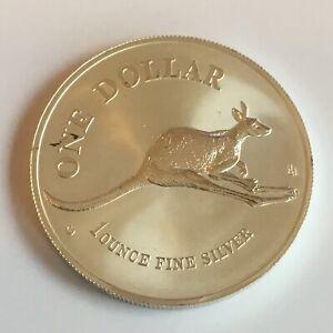 1 Unze Silber 999 Känguru Australien 1994 Sammlermünze Siehe Bilder Selten