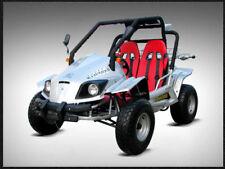 Adults & Kids 147cc 150cc Off Road Go Kart 4 stroke Buggy Quad ATV Knobby Tires