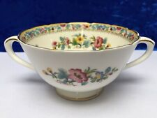 COALPORT Bone China, ''MING ROSE'' Pattern ~ Twin Handled Soup Cup (Excellent)