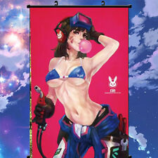 40*60cm Blizzard Game Overwatch D.Va Sexy Poster Wall Murals Scroll Painting