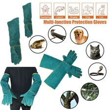 More details for wild animals anti bite gloves reptile feeding anti-scratch safe protection glove