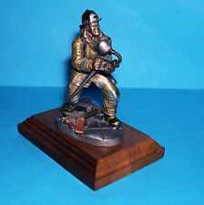 Michal F. Roche Chilmark Fine Pewter Courage Under Fire -Facing The Enemy Figure