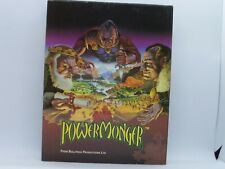 Powermonger power monger game apple macintosh mac big box/cardboard carton