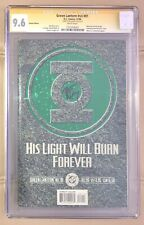 Green Lantern Vol 3 Issue 81 CGC SS 9.6 Signed By Writer Ron Marz.