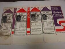 Buffalo Bills 1996 Sealtest Lot Of 4 Milk Carton Bios Jim Kelly++ 102617jh