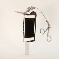 Otoscope for iPhone 5/5S adaptor for Endoscope video otoscope & rhinoscope exam