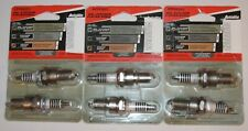 New Six Autolite APP64 Double Platinum Spark Plugs (APP64DP2)