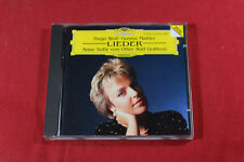 Hugo Wolf / Gustav Mahler  LIEDER  -  von Otter Gothoni CD Germany near mint