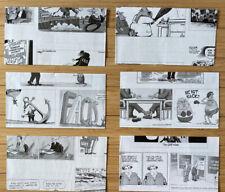 Cartoon Envelopes 4x6+ Paper Handmade Stationery 6 Pieces Lot