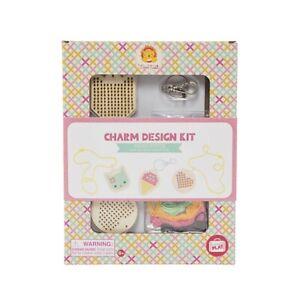 NEW Tiger Tribe Charm Design Kit - Cross Stitch Childrens Art Craft Activity