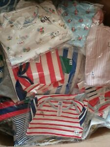 Ex Baby Boden Body Suits Vests Long Sleeve Boys Multi Packs lot 0-3- 2-3 NEW