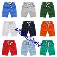 Boys Kids Shorts Pants Summer Casual Sport Cotton Boys Shorts Age 2-10 years