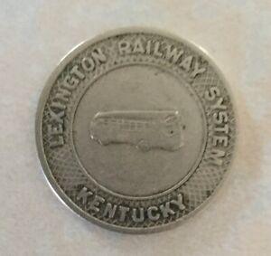 Lexington, Kentucky Railway System  One Fare Token