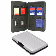 16 Slots 8x SD Micro SD Memory Card Protecter Box Storage Case Holder Box A4