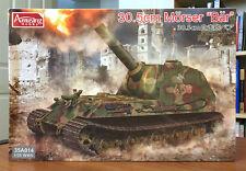 Amusing Hobby 1/35 35A014 30.5cm Morser 'Bar' German WWII Mortar Tank Model NEW