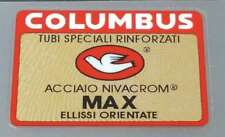 Columbus MAX Frame Decal - Red Border - Glossy UV Laminate (sku colu817)
