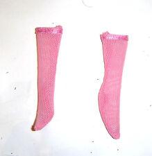 Monster High Doll Sized Pink Short Socks For Monster High Dolls mh109