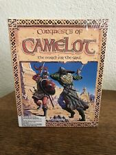 """IBM TANDY MS-DOS 3.5"""" Media Conquests Of Camelot The Search For The Grail New"""