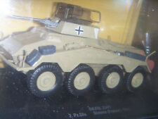 EAGLEMOSS Tank Sd.Kfz.234/1 2.Pz.Div. Somme 1944 1:43 NEW IN BOX + BOOKLET