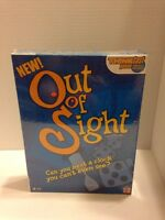 Out Of Sight Card And Dice Game Matel New Sealed