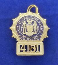 N.Y.P.D. Detective US Police Badge #ICSK