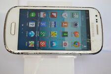 Samsung Galaxy S III Mini GT-I8190 - 8GB - Marble White (Unlocked)  SCREEN CRACK