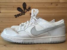2002 Nike Dunk Low Pro sz 13 White Neutral Grey SB B 1st Edition 624044-101