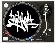HIP HOP GRAFFITI - DJ SLIPMAT 1200's or any turntable, record player