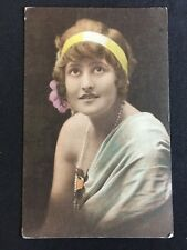 Vintage Postcard - RP Anonymous Women - #66 - Savory - posted 1918