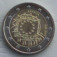 2 Euro Lettland 2015 30 Jahre Europaflagge unz.