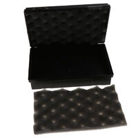 Outdoor Shockproof Black Plastic Survival Container Storage Case Carry Box
