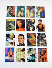 1993 Jean-Claude Van Damme Pocket Calendar Set (12 Cards) Portugal Nm/Mt