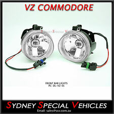 VZ COMMODORE SS FOG / DRIVING / SPOT LIGHTS - BRAND NEW PAIR FOR SS SV6