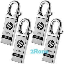 HP x752w 128GB 64G 32GB 16GB USB 3.0 Flash Drive Disk Carabiner Key Metal Lot